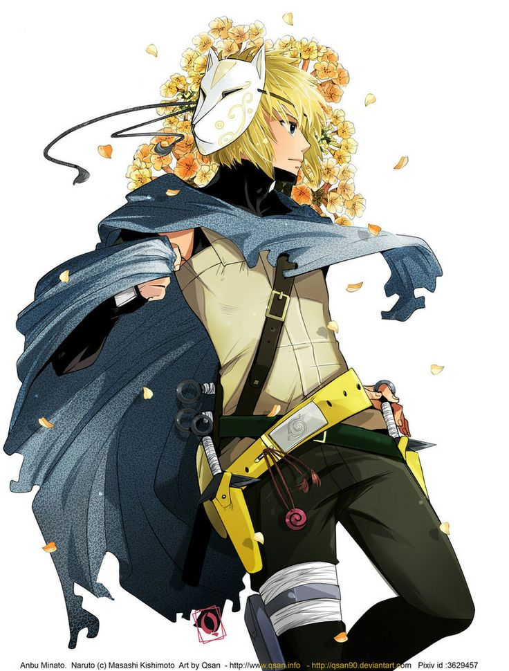 Anbu minato namikaze - fourth hokage #naruto | Anime ...