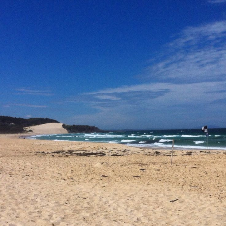 One mile beach- Forster, NSW, Australia