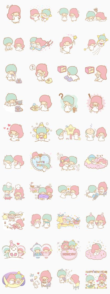 Little Twin Stars - LINE Stickers