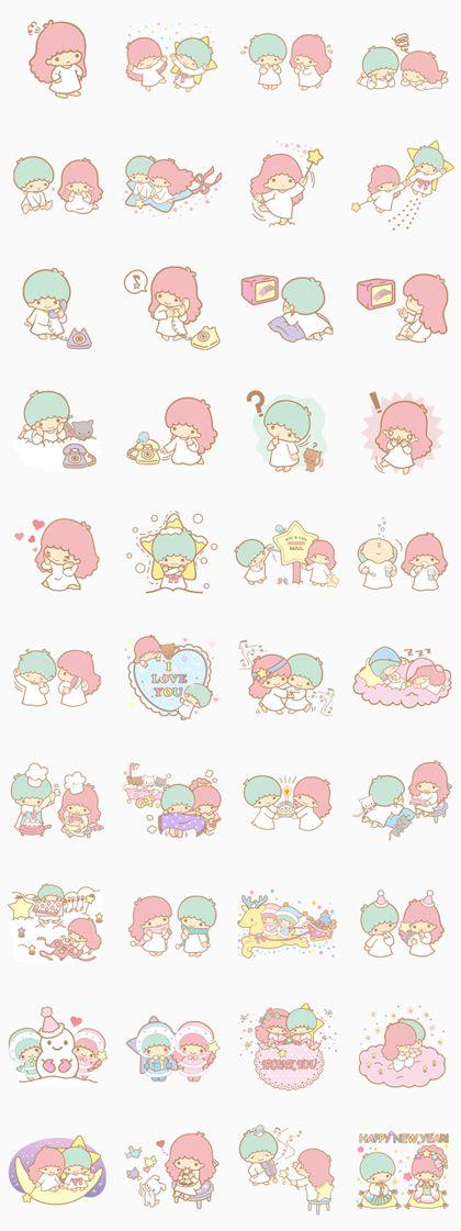 Little Twin Stars - LINE Stickers