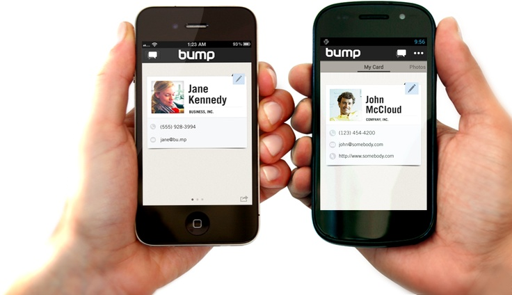 BUMP. If everyone had this app life would be just that little bit easier.    You open the app and bump phones to share your contact details. It will also tell you which friends you have in common. Its an oldie but a goodie.
