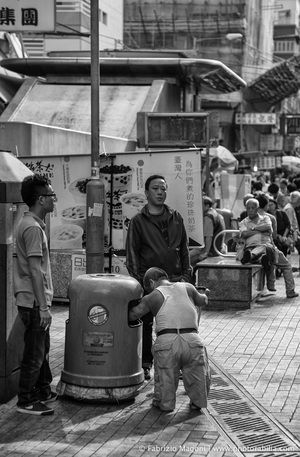 Trash! #hongkong #china #mongkok #photography #street #nikon #picture #blackwhite