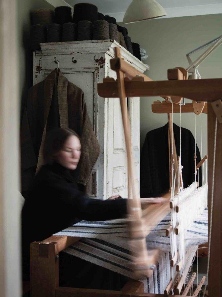 Un décor sous influence wabi sabi | L'appartement d'Amy Revier, artiste textile à Londres