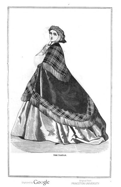 """""""The Tartan"""". Peterson's Magazine, January 1860. 