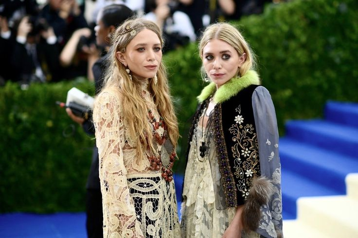 Mary-Kate and Ashley attending the Met Gala 2017 ... (160211672102) — Olsen Daily