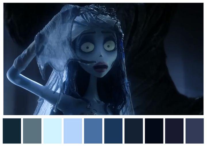 Como as paletas de cores determinam o clima dos filmes-noivacadaver.png