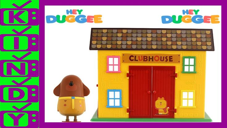 Hey Duggee Club House Playset. Hey Duggee Toy. Cbeebies.