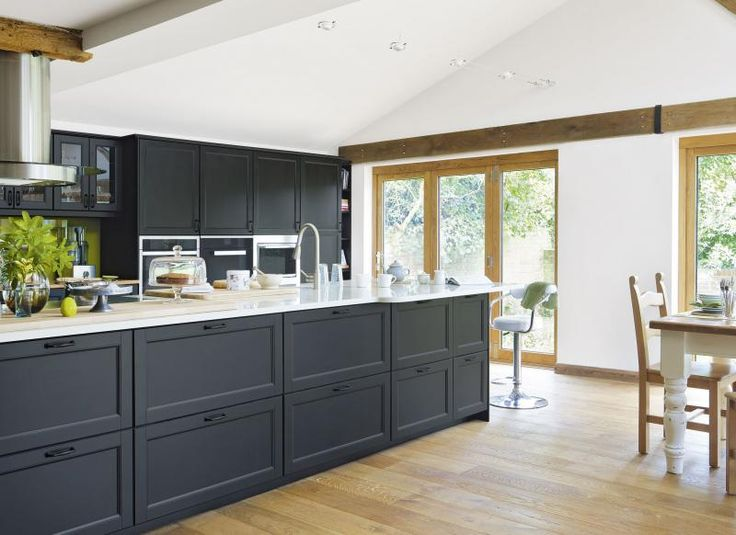 Modern Kitchen Extension with Oak Flooring