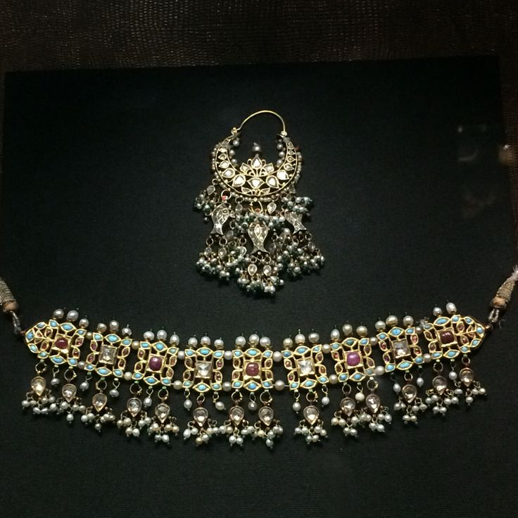 Rajput jewellery from the 18th century diamonds turquoise rubies and pearls