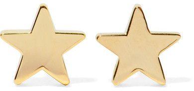 Jennifer Meyer - Star 18-karat Gold Earrings - one size