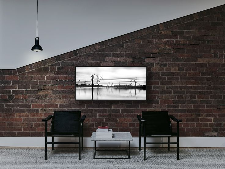 Black oak light box 1200x550mm  #volumesgallery #lightbox #design