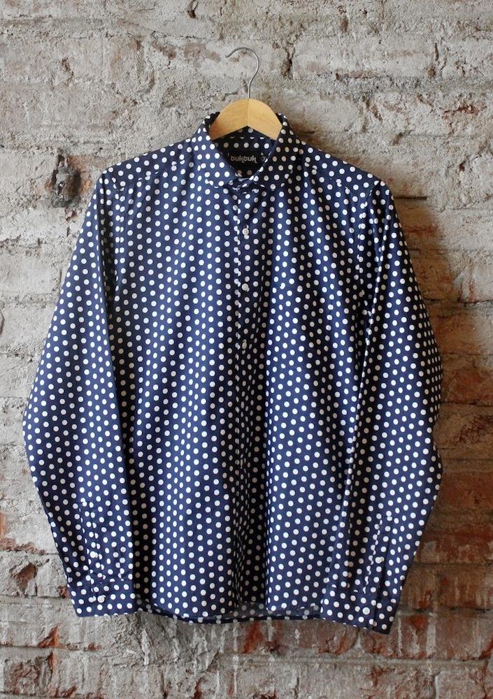 Parlour Polka Dot L/S Shirt by TukTuk