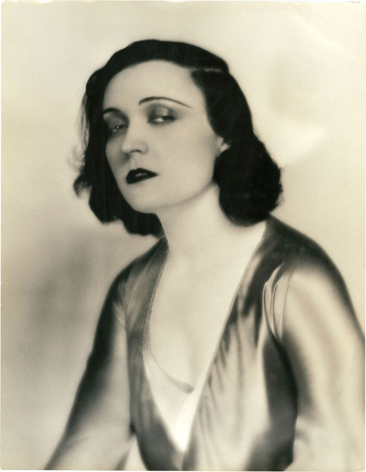 Portrait of Pola Negri for A Woman Commands by Russell Ball.