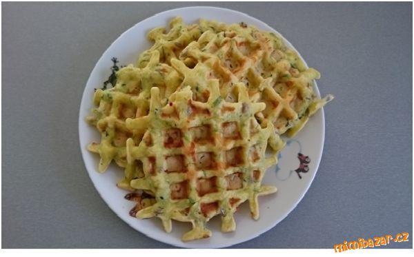 BEZMASÁ JÍDLA - Cuketové vafle