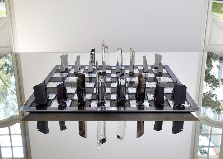Chess set by Daniel Libeskind