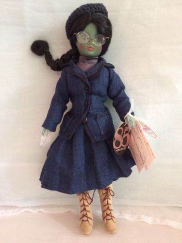 Madame-Alexander-Elphaba-First-Day-at-Shiz-Wicked-Doll-Without-Box-48355