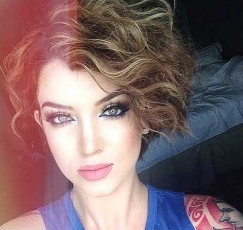 Curly Beach Waves For Short Hair Hair Pinterest