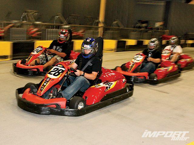 indoor go kart racing