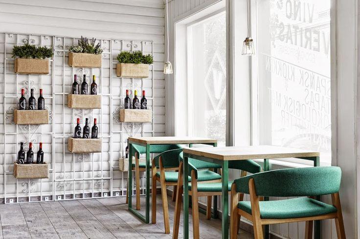 ร้านอาหารระบบนิเวศน์ ความเชี่ยวชาญในไวน์ ออแกนิต และทาปาส   fPdecor.com…