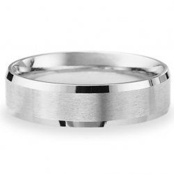 $1,458.00 men's platinum wedding band