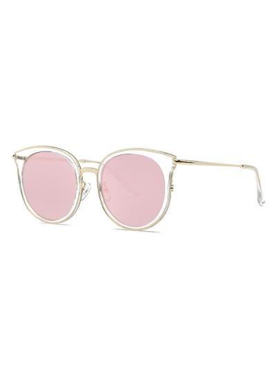 Gato transparente del ojo gafas de sol de espejo