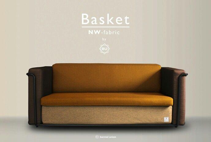 Bemiel Union_Basket Sofa custom#NW fabric-Waterproof#fall  www.bemiel.com