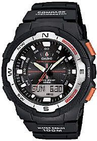 Casio Men's Twin Sensor Analog-Digital Orange-A #casio #newarrivals #men #women #style #giftideas #watches