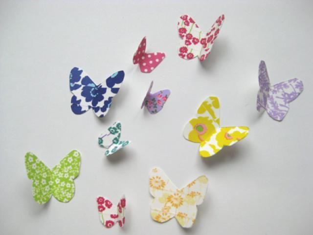 Washi Tape Crafts: Washi Tape Butterflies