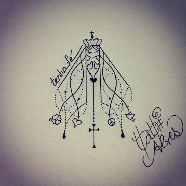 Tatiana Alves Tattoo Designer @tatianaalves Tenha fé! ❤️Instagram photo   Websta (Webstagram)