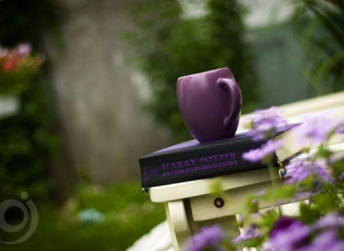 violet cup
