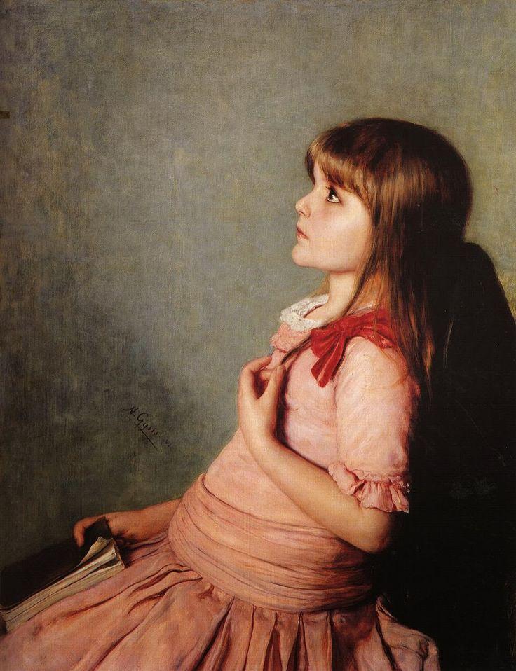 Νικόλαος Γύζης,Αποστήθιση, 1883