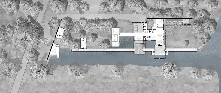 Image 9 of 9 from gallery of Lake Austin House / Lake|Flato Architects. Plan