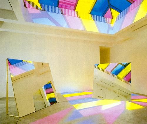 Danielle Buren , Pompidou Paris
