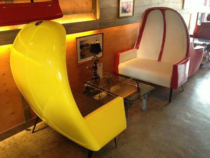 VW Bug Hood Chairs