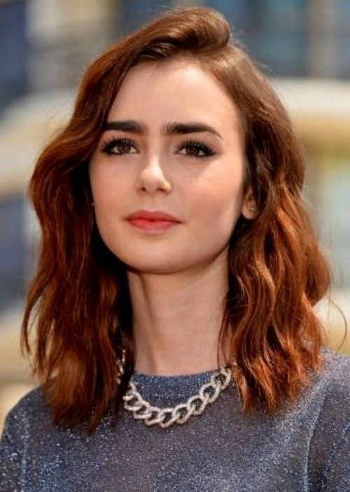 17 Best ideas about Medium Auburn Hair on Pinterest