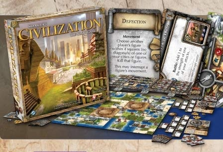 Civilization; best with 4 players, BGG rating 7.6