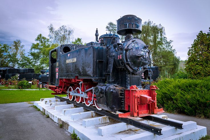 The Principesa Elena steam locomotive