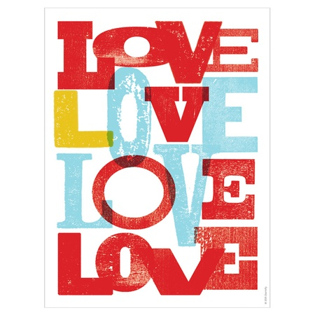 I pinned this Lots of Love Print by Dormify from the Bright
