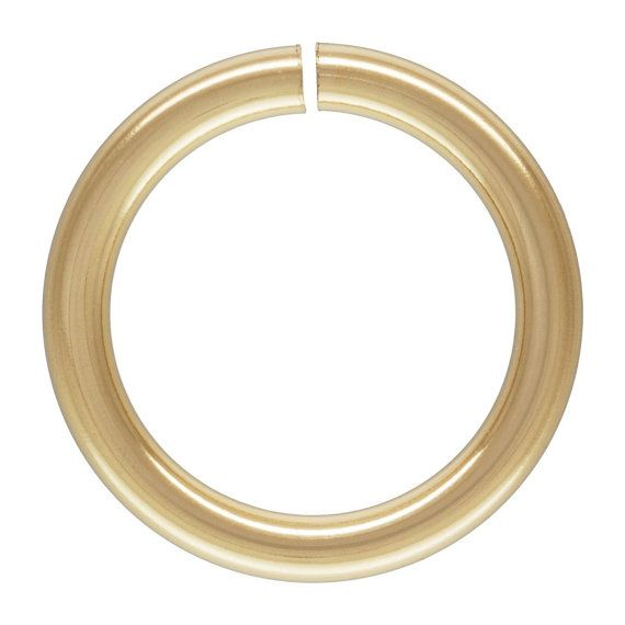 BEST DEAL? TIMES 3? 14Kt Gold Filled 18ga 7mm Open Jump Rings  - 10pcs (4460) 15% discounted Made in USA