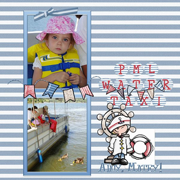 PML Water Taxi - Oscraps Gallery