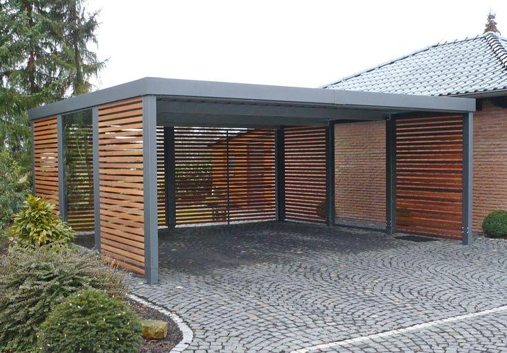 die besten 25 doppelcarport ideen auf pinterest stahl carports carport modern und carport stahl. Black Bedroom Furniture Sets. Home Design Ideas