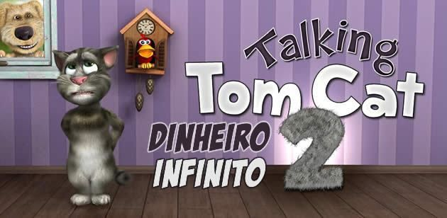 Baixakis - Talking Tom Cat 2 está de volta na sua segunda versão com muito mais recursos, voz mais apurada e divertido como nunca! Fale com o Tom dizendo qualquer coisa que ele repete. Faça cócegas, brinque com ele, irrite ele e veja o que acontece. Você pode personalizar totalmente seu Tom Falante com dive...  - http://www.baixakis.com.br/talking-tom-cat-2-dinheiro-infinito/?Talking Tom Cat 2 – dinheiro infinito -  - http://www.baixakis.com.br/talking-tom-cat-2-dinhei