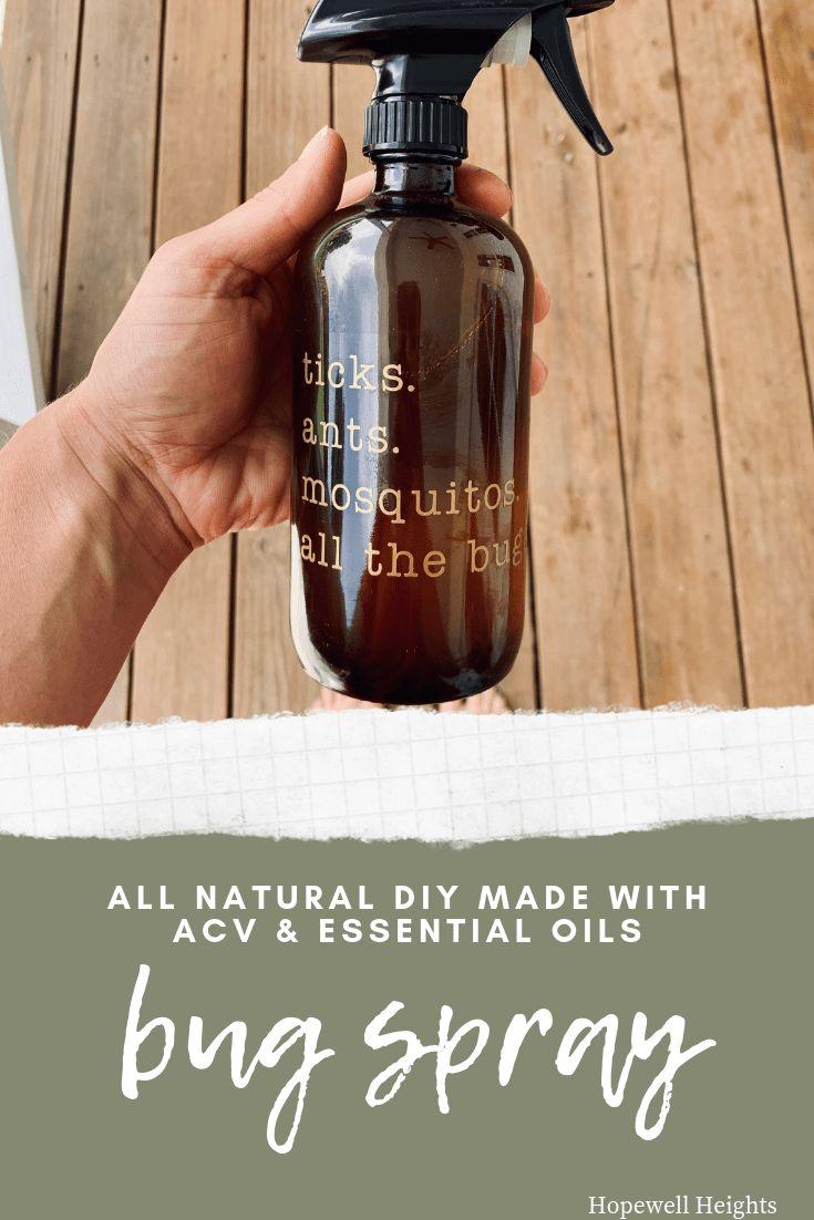 Bug spray natural diy bug spray made with essential oils