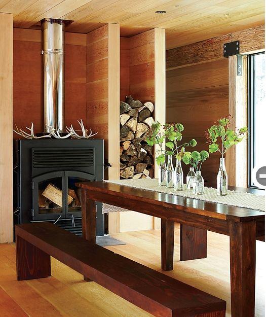 Modern Rustic Dining Space; Anne Sportun