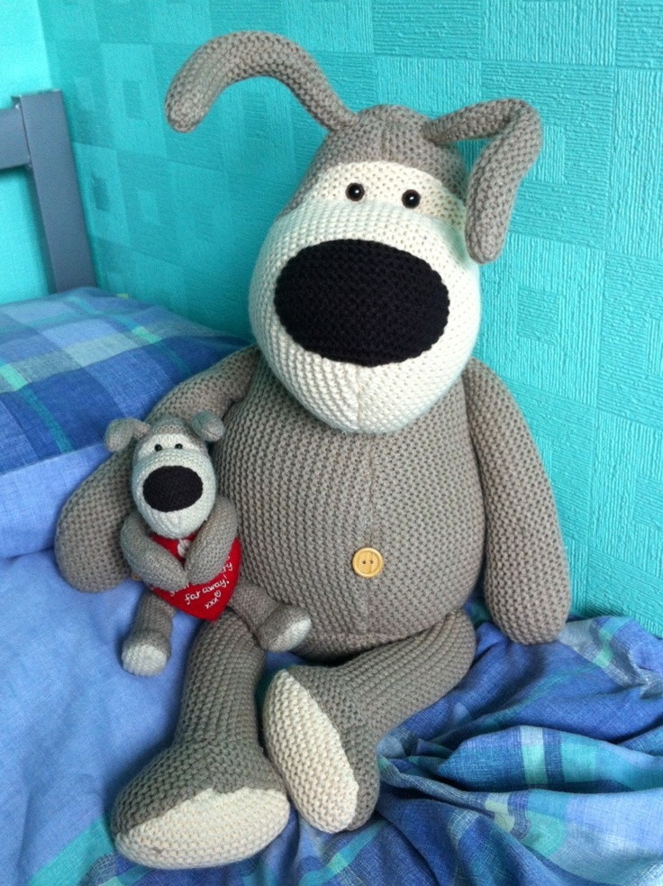 Boofle travels has a new friend... Giant Boofle!