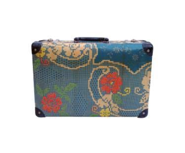 "Saatchi Art Artist Uoldbag! (yob); Collage, ""Large Floral hand embroidered - Sold"" #art"