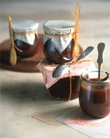 Caramel Bourbon Vanilla Sauce - Martha Stewart Recipes (its missing the directions for the butter, but I like the addition of vanilla + bourbon)