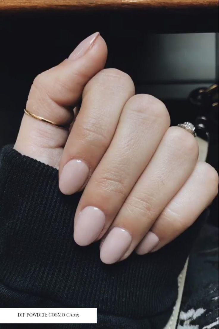 Als je van neutrale nagels houdt, probeer dan deze kleuren