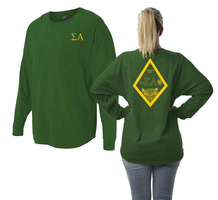 Sigma Alpha Game Day Crest Jersey