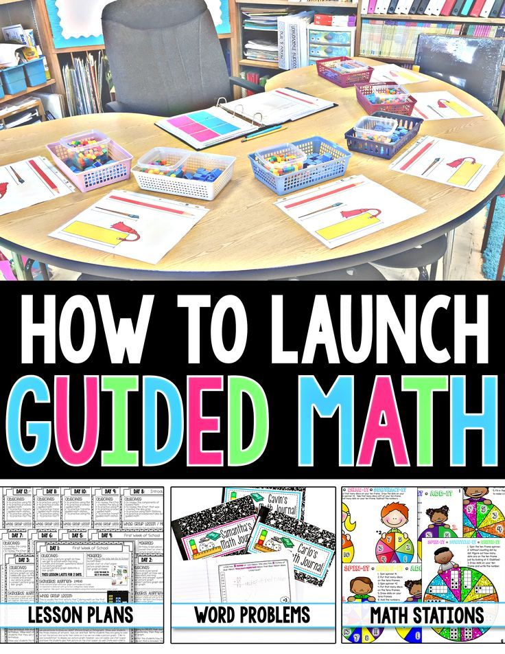 Are you having trouble figuring out how to Launch Guided Math in your classroom?  If so, look NO FURTHER!  This 87-page FREE RESOURCE will give you Step-by-Step instructions on How to Implement Guided Math in your 2nd Grade Classroom! Check it out!